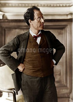 GUSTAV MAHLER Austrian Composer 1860 - 1911 Credit: Boosey and Hawkes Collection / ArenaPAL    www.a