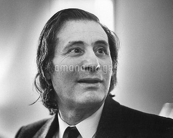 ALFRED SCHNITTKE ; 1934 - 1998 ; Russian composer ; Moscow, Russia ; December 1986 ; Credit: Clive B
