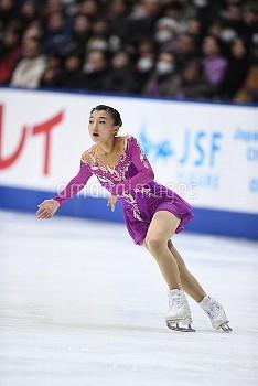 坂本花織 フィギュア全日本選手権 女子シングルFS