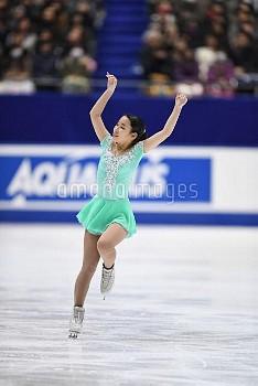 三原舞依 フィギュア全日本選手権 女子シングルFS