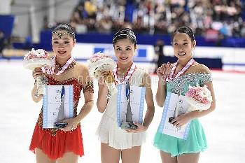 宮原知子 樋口新葉 三原舞依フィギュア全日本選手権 女子シングルFS