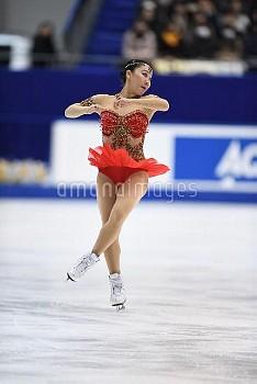 樋口新葉 フィギュア全日本選手権 女子シングルFS