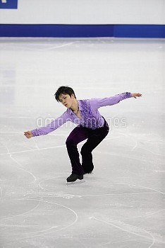 Shoma Uno SP ISU Four Continents Figure Skating Championships in Gangneung, South Korea Friday, Feb.