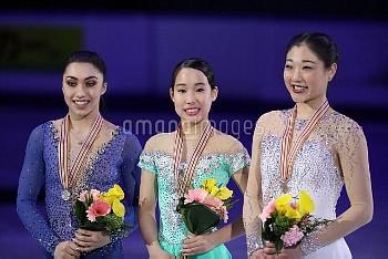 MAI MIHARA LADIES FREE ISU Four Continents Figure Skating Championships in Gangneung, South Korea Fr