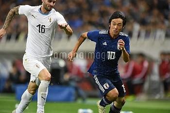 [サッカー] キリンチャレンジカップ 2018 日本 vs ウルグアイ 中島翔哉
