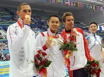 Olympics Swimming Men's 100M Breaststroke final in Beijing