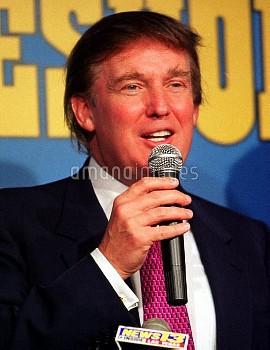 Millionaire developer Donald Trump on CNN's Larry King Live