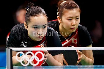 Women's Team Table Tennis Bronze match at Rio 2016 Olympics