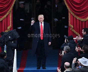 Inauguration ceremony in Washington, D. C.