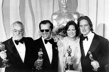 48th Annual Academy Awards for the year 1975 Date: March 29th, 1976 One Flew Over the Cuckoo's Nest