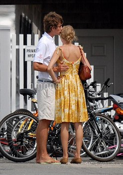 ***Exclusive Allrounder*** Conor Kennedy and Taylor Swift showing affection for one another while ou