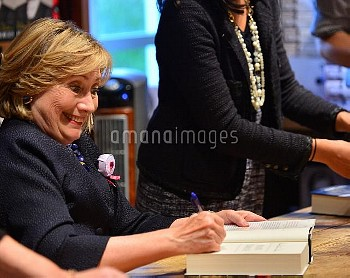 Hillary Clinton signs copies of her book 'Hard Choices' at Books and Books in Coral Gables  Featurin