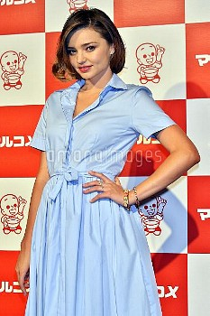 Miranda Kerr attends the event for Japanese fermented foods company Marukome Co. Ltd. at Shangri-La