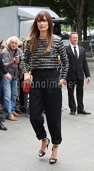 Paris Fashion Week Haute Couture Autumn/Winter 2016/17 - Chanel - Arrivals  Featuring: Caroline de M