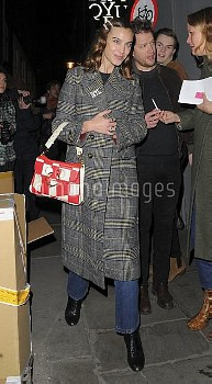Celebrities at London Fashion Week 2018Featuring: Alexa ChungWhere: Manchester, United KingdomWh