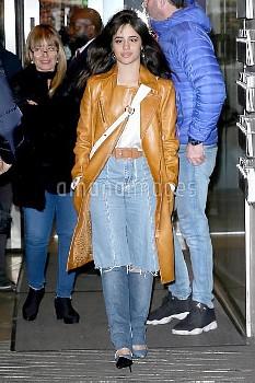 Camila Cabello at the studios of BBC Radio One in London.  Featuring: Camila Cabello Where: London,