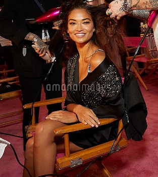 Victoria Secret Runway Show 2018 Backstage at Pier 94  Featuring: Shanina Shaik Where: New York, N