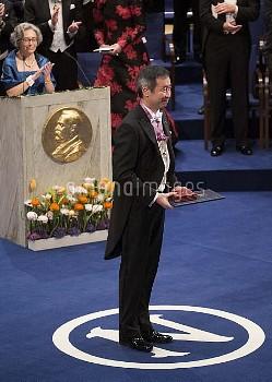 Nobel Prize, Stockholm Concert Hall, 2015-12-10