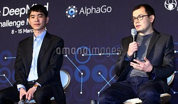 (SP)SOUTH KOREA-GO-LEE SEDOL VS ALPHAGO-SECOND ROUND