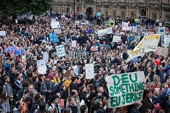 PRO-EU PROTEST LONDON