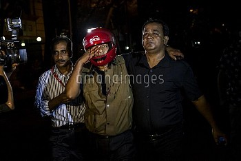Hostage Situation During Dhaka Attack