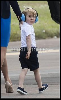 Duke and Duchess of Cambridge at Royal International Air Tattoo