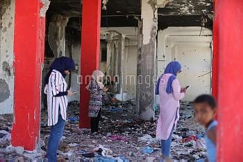 Pokemon Go in Gaza city