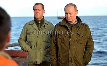 Russian President Putin Visits Novgorod Region Russia