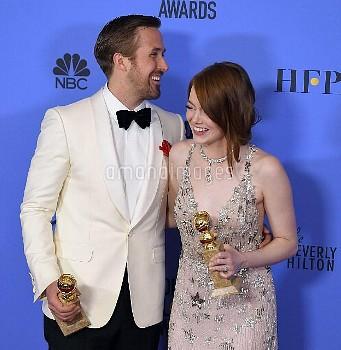 Golden Globe Awards 2017 - PRESS ROOM