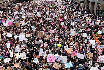 Women's March in NYC, 012117