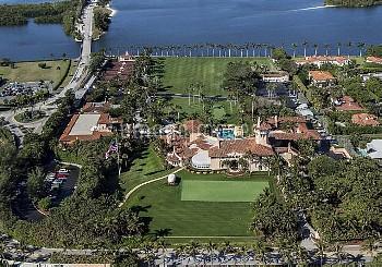 フロリダ州パームビーチにあるトランプ大統領の別荘 Palm Beach, Florida, U.S. - Mar-a-Lago will become the ''winter White House