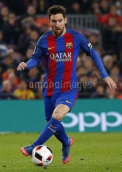 リオネル・メッシ:バルセロナvs.アトレティコ・マドリード=スペイン国王杯 FC Barcelona v Atletico Madrid - Copa Del Rey Semi-final: Seco