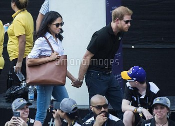 Meghan Markle and Prince Harry Attend Invictus Games