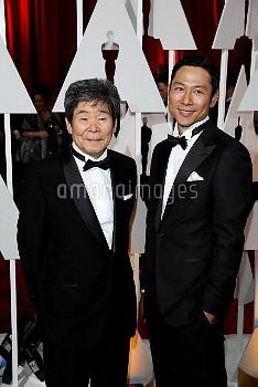高畑勲 87th Academy Awards - Press room
