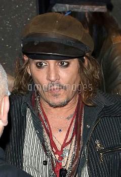 Johnny Depp Spotted In Munich