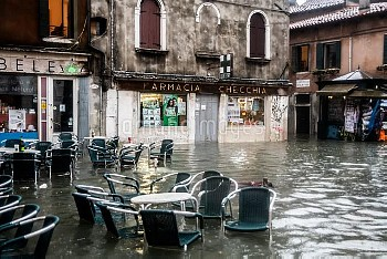 Venice Inundated By High Tide