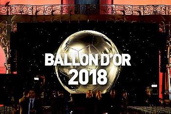 FOOTBALL : arrivees de la Ceremonie du Ballon d Or France Football 2018 - Paris - 03/12/2018