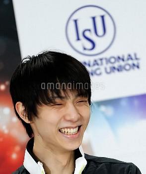 (SP)JAPAN-SAITAMA-FIGURE SKATING-WORLD CHAMPIONSHIPS-YUZURU HANYU-PRESS CONFERENCE