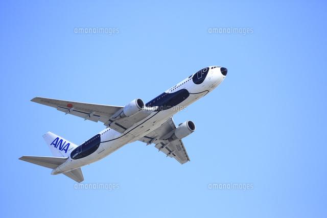 ジェット旅客機 Ana 全日空 パンダ模様塗装 の写真素材 イラスト素材 アマナイメージズ