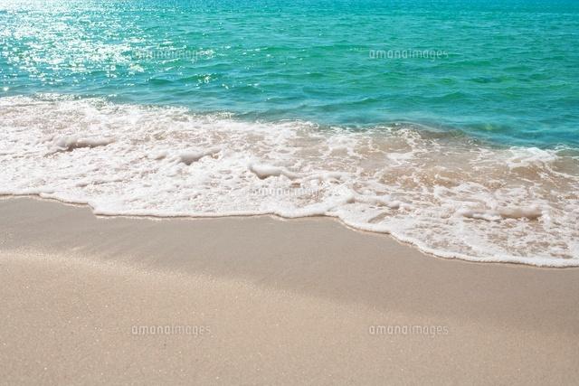 波打ち際の砂浜10132107786の写真素材イラスト素材アマナイメージズ