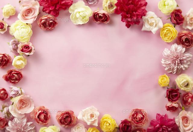 かわいいお花の背景素材10132111307の写真素材イラスト素材アマナ