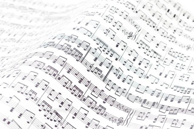 楽譜10137001644の写真素材イラスト素材アマナイメージズ