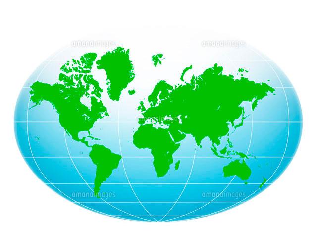 世界地図10141000304の写真素材イラスト素材アマナイメージズ