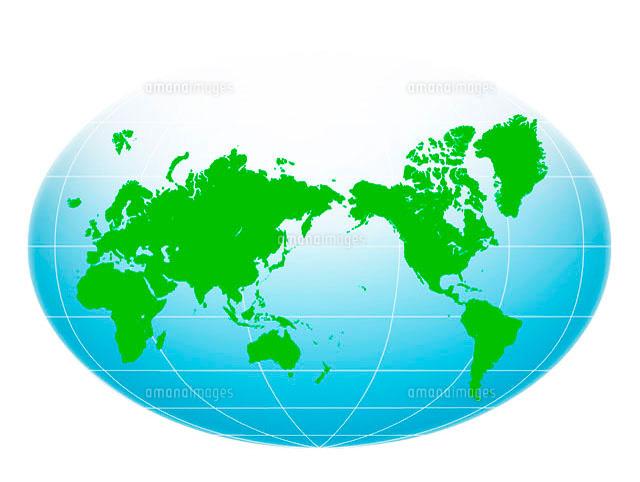 世界地図10141000308の写真素材イラスト素材アマナイメージズ