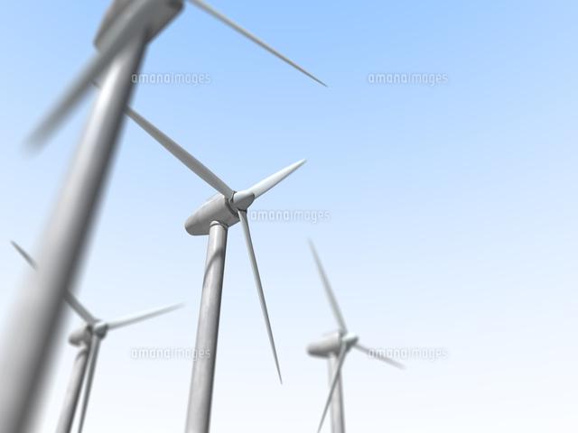 風力発電10143004365の写真素材イラスト素材アマナイメージズ