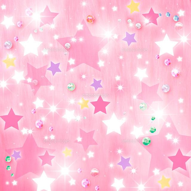 キラキラした星型のコラージュ10169000414の写真素材イラスト素材