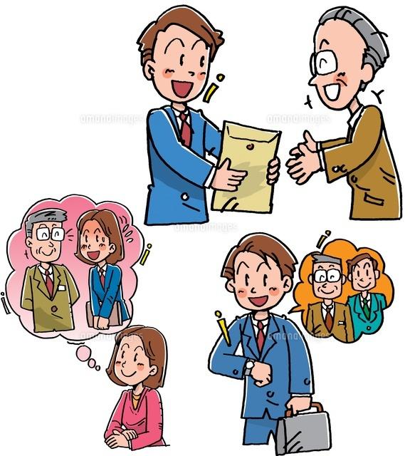 営業ビジネスマンの商談と接客のマナー10173003083の写真素材