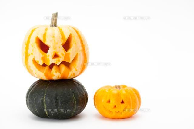 ハロウィンかぼちゃジャックオランタン10175001719の写真素材
