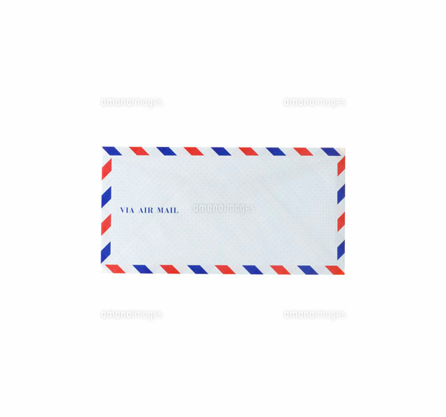 エアメール用の封筒10214000196の写真素材イラスト素材アマナ