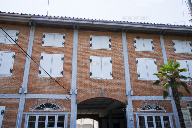 富岡製糸場繭倉庫10222005105の写真素材イラスト素材